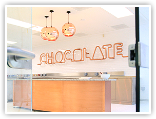 The Chocolate Innovation Centre in Bournville.