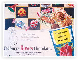 A 1956 Roses magazine ad.