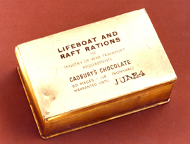 Cadbury's Lifeboat and Raft Rations.